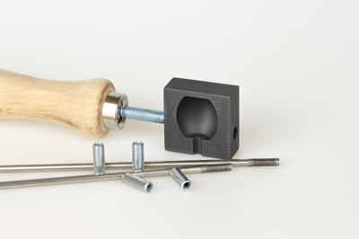 Graphite knob roller, small, pattern no.6