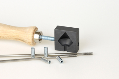 Graphite knob roller, small, pattern no.9