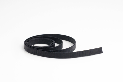 Leather cord made from genuine nappa leather, 10 mm wide, pattern no. 9