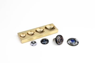 Top shaper for rings and pendants
