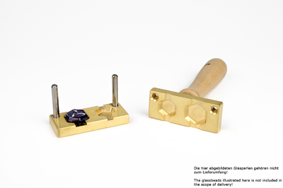 Bead press for the flat mandrels: two hexagonst: 22 and 18mm