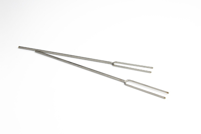 Two double mandrel for beadpresses, center distance 12mm