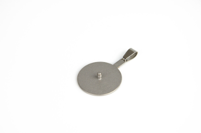 Interchangeable pendant with 2.5mm thread, diameter 25mm, for beads up to 36mm